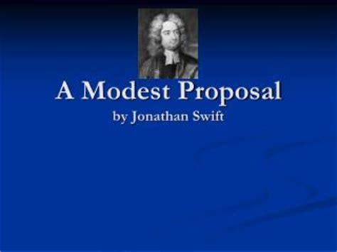 Argument Essay On a Modest Proposal Free Essays